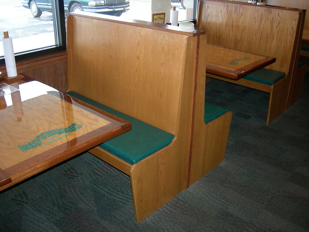 Beef O Bradys Epoxy Restaurant Tables and Booths