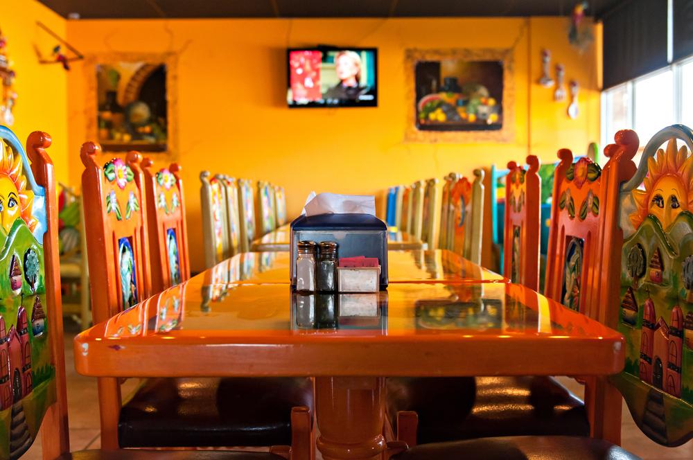 El Maguey Epoxy Resturant Tables