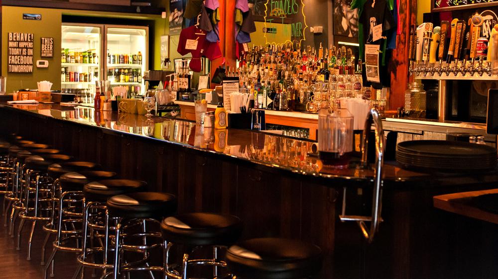 Epoxy Bar Top at 41 Degrees North