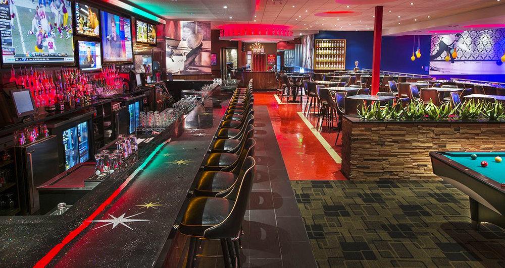 Kings Bowl High Gloss Epoxy Bar Top by Eash Design