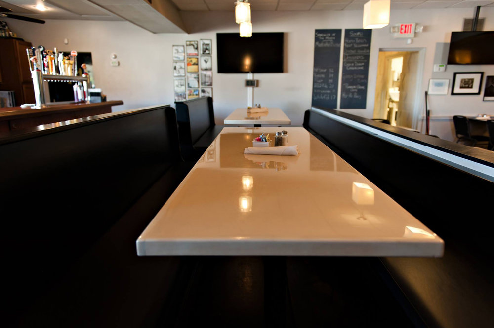 Epoxy Communal Table Top For Miles Lab By Eash Design