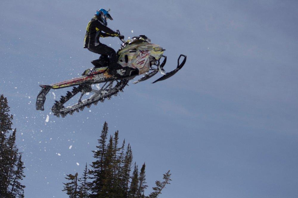 """Guide Jeff Shanor on his 2017 Ski-Doo Gen 4 165"""""""