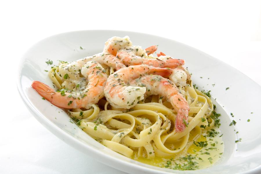 Shrimp Scampi with Butter