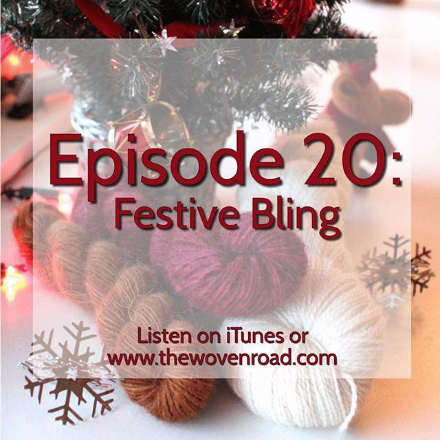 In this episode, I'll share some things I've been making, I'm just DYEING to tell you (yuk yuk), we'll have a Lush Skein Special, talk all things holly and jolly with holiday gift ideas and winter themed projects, and I'll announce a giveaway that is seasonal as all get-up! And we'll do this all, with my guest co-host for this episode, Kayla!  A tad late, but who doesn't love a little belated holiday cheer?! #thewovenroad #holiday #knitting #knitlife #crochet #kal #pussyhat #ornaments #mittens #sweater #yarn #wool #hanukkah #knitmas #knittedbirds #podcast #eposide20 #thelushskein