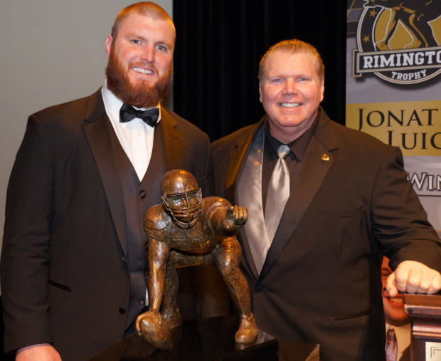 2014 Bryan Stork and Dave Rimington.jpg