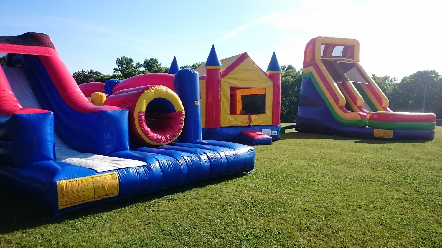 inflatable bounce houses u0026 water slide rentals in hendersonville