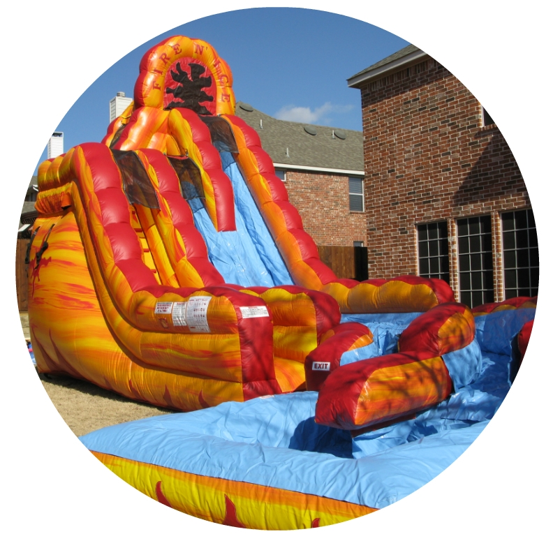 Nashville Inflatable Slides