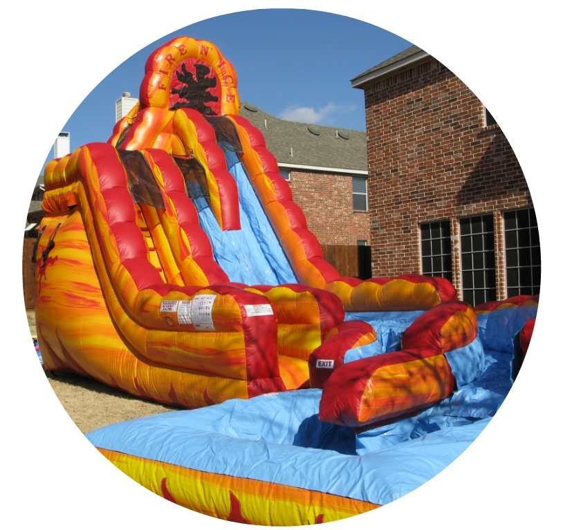 Nashville Inflatable Waterslide Rentals Dry Slides