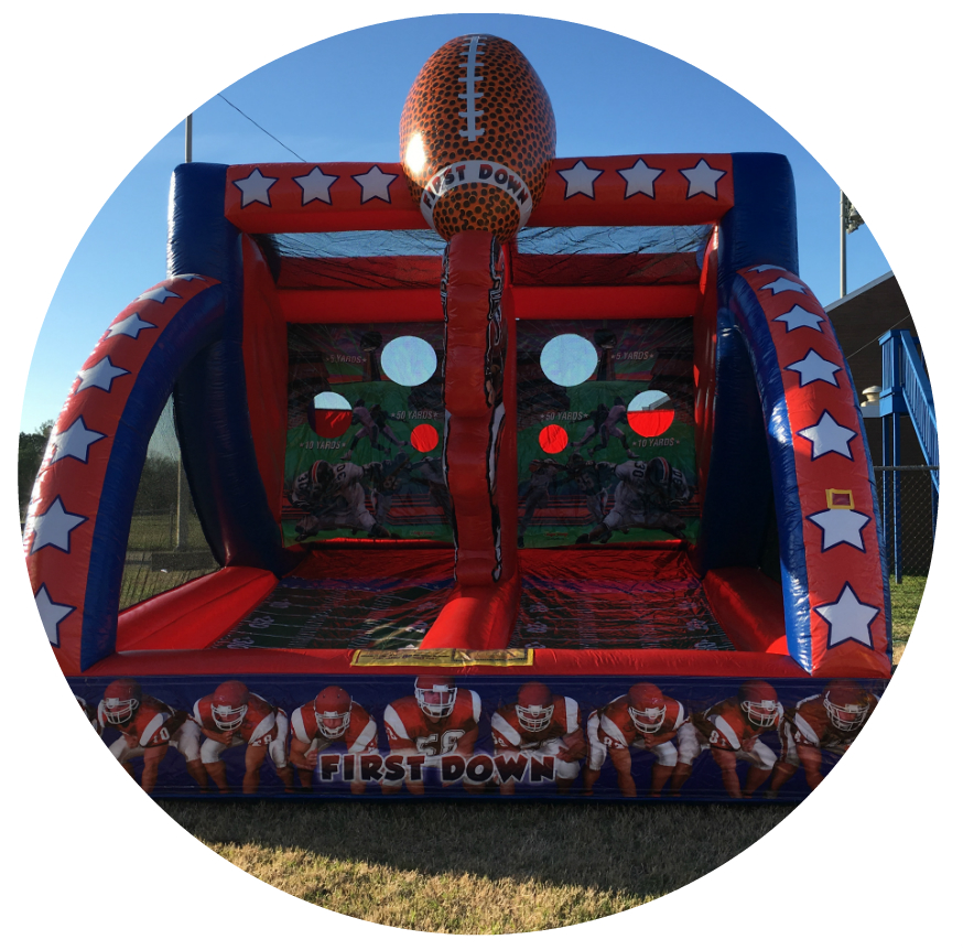 Inflatable Game rentals Franklin Murfreesboro Soccer football baseball