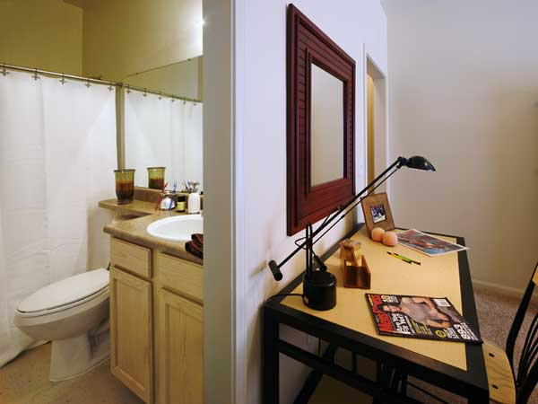 Full Bathroom In Your Bedroom at the Edge at Norman