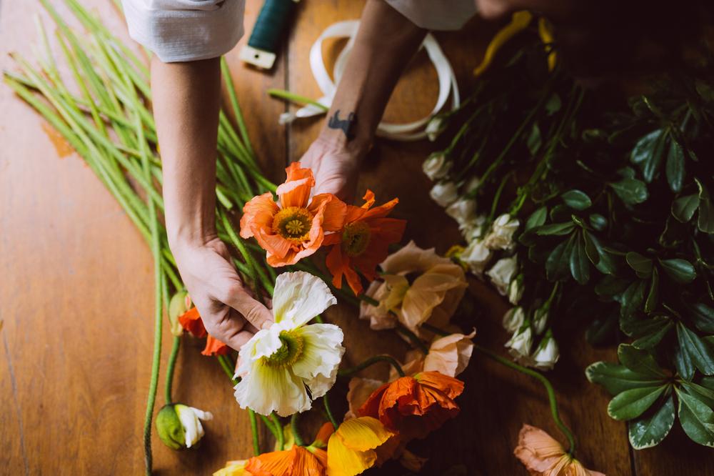 FREE PEOPLE  FLOWER CROWN SHOOT  PHOTO BY KAYLA ROCCA http://www.kaylarocca.com/