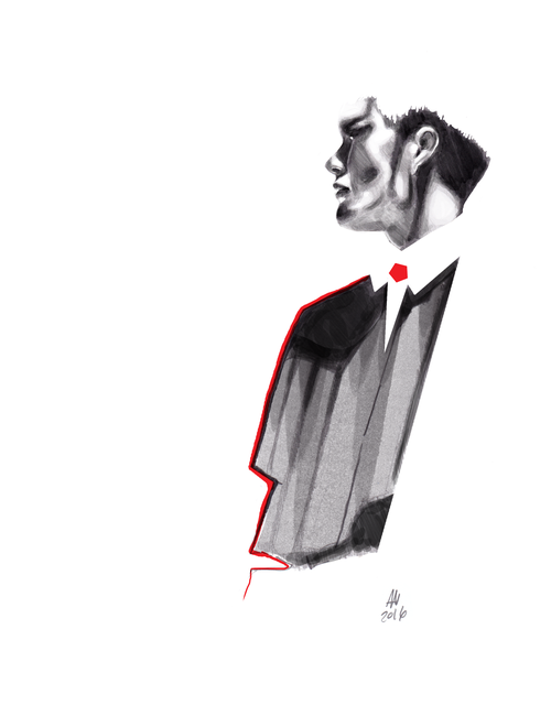 editorial | fashion illustration.