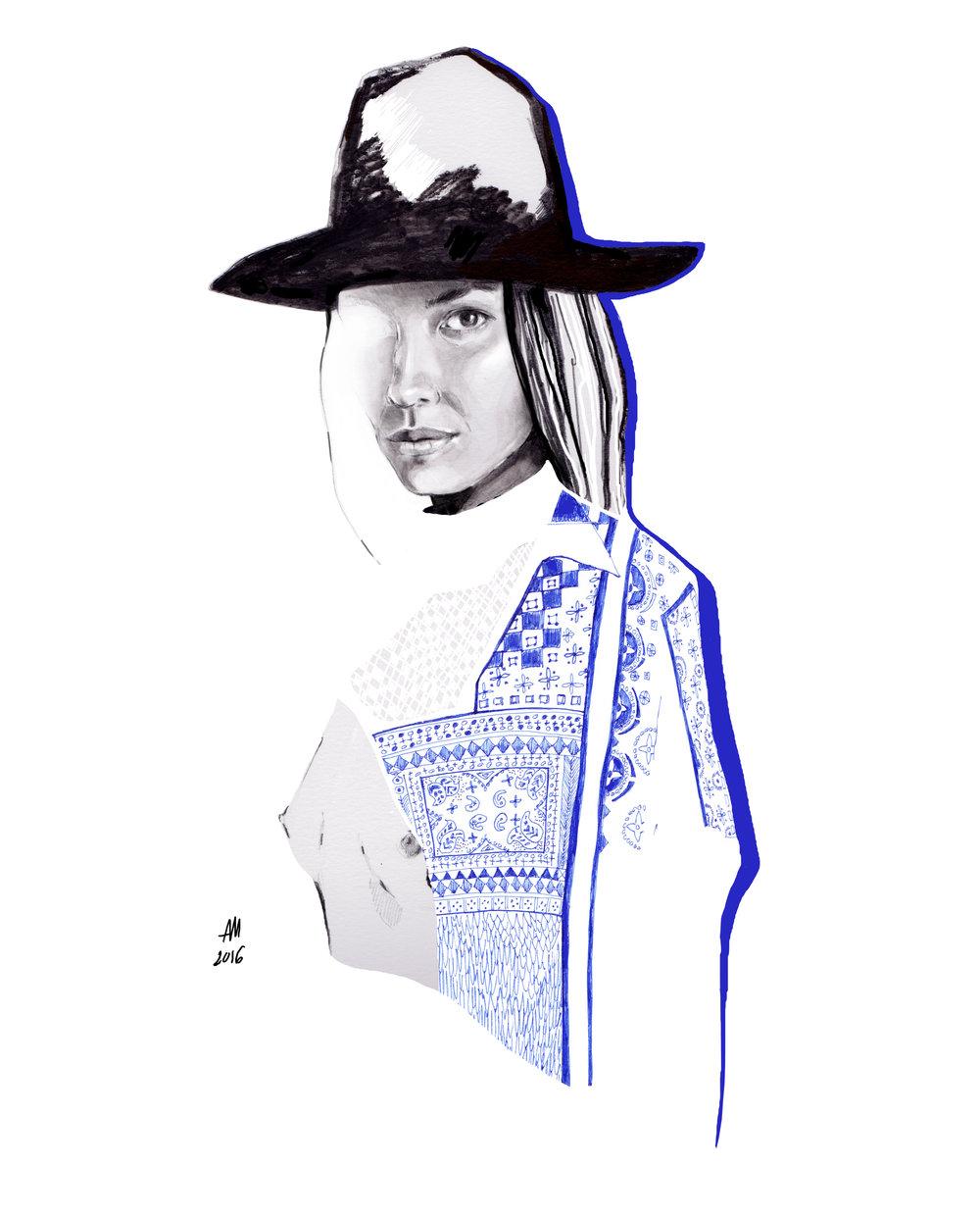 portrait of Tasya Van Ree.