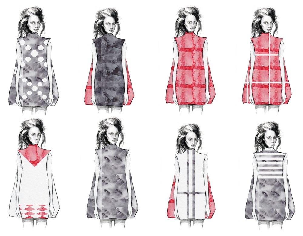 Book illustration | Chapter: Fabrics.