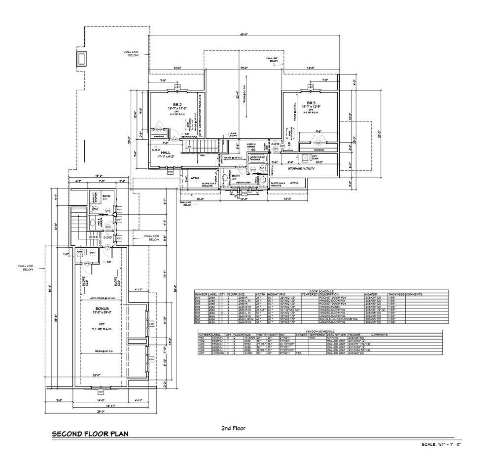 Lake Pepin | 2nd Floor Plan
