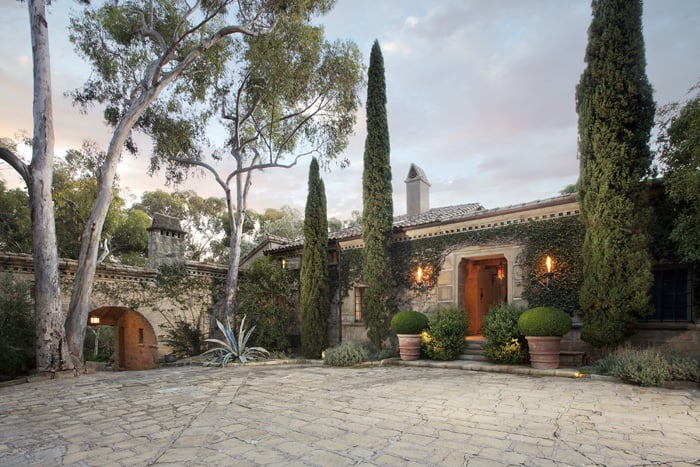 Saladino Villa Montecito, California A 1934 Restored Italianate Estate On 13 Acres  Offered at  $24,500,000 SOLD                                    For more information and images