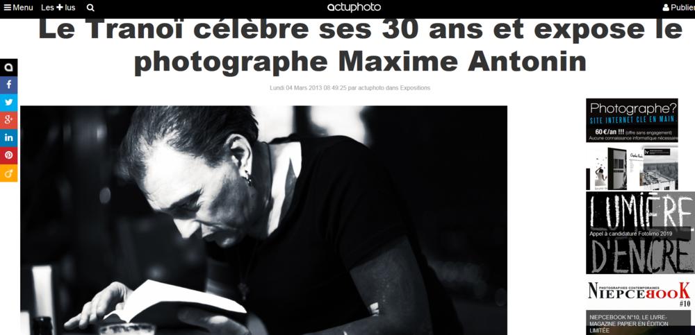 Screenshot_2019-01-24 Le Tranoï célèbre ses 30 ans et expose le photographe Maxime Antonin Actuphoto.png