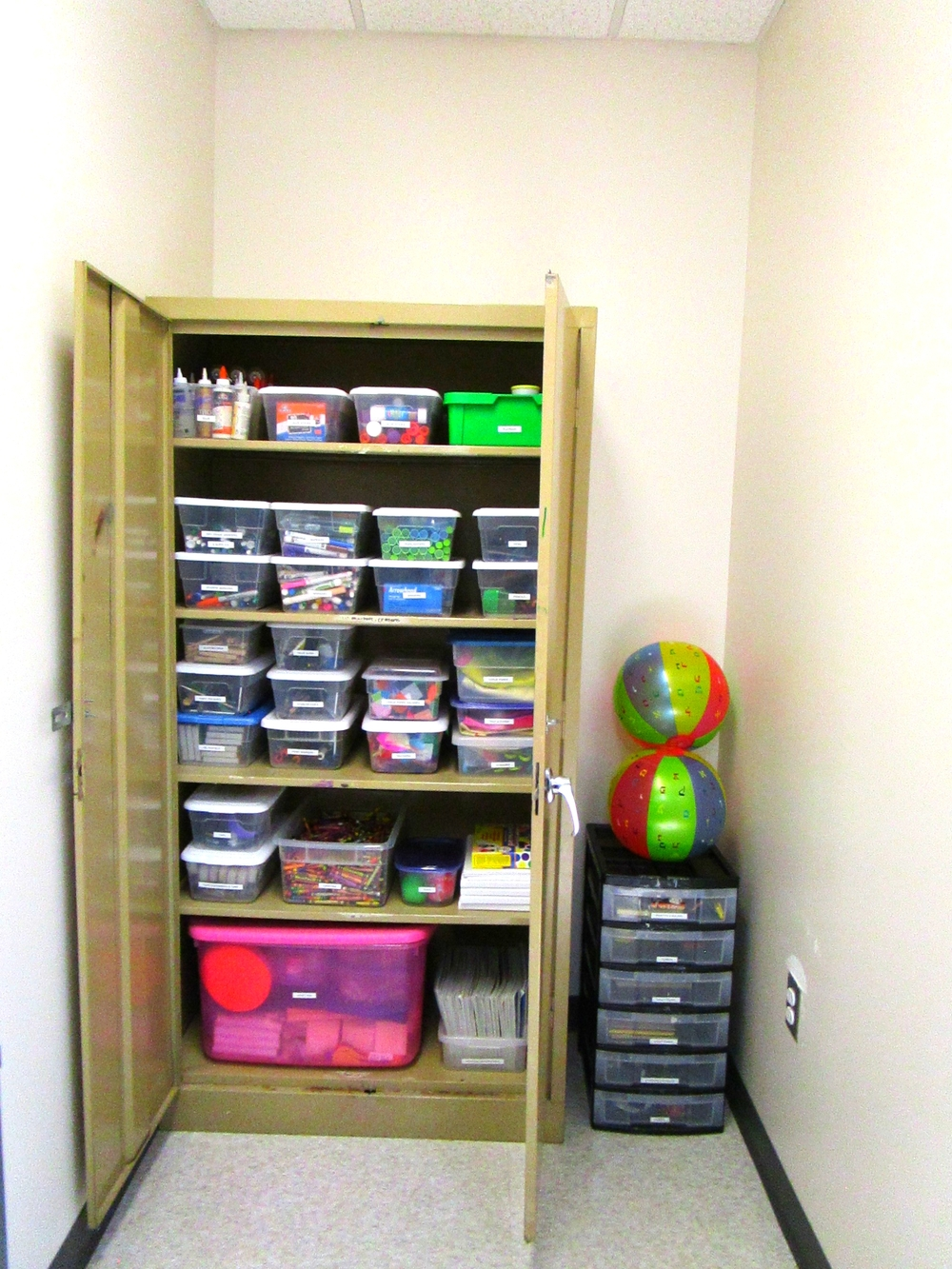 Supply Closet After