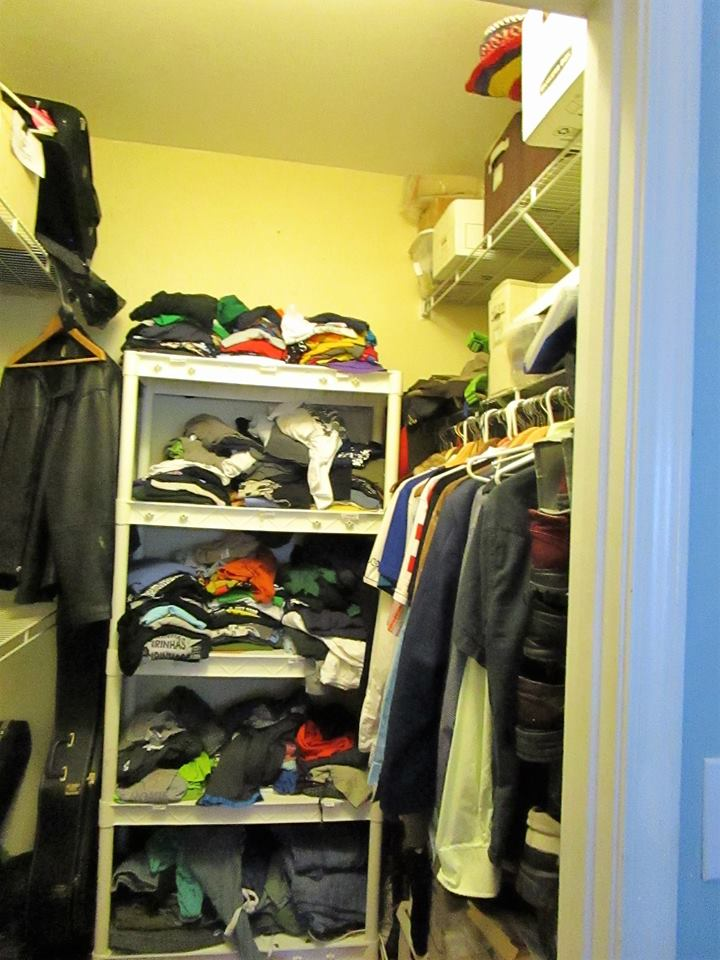 Bedroom Closet Before