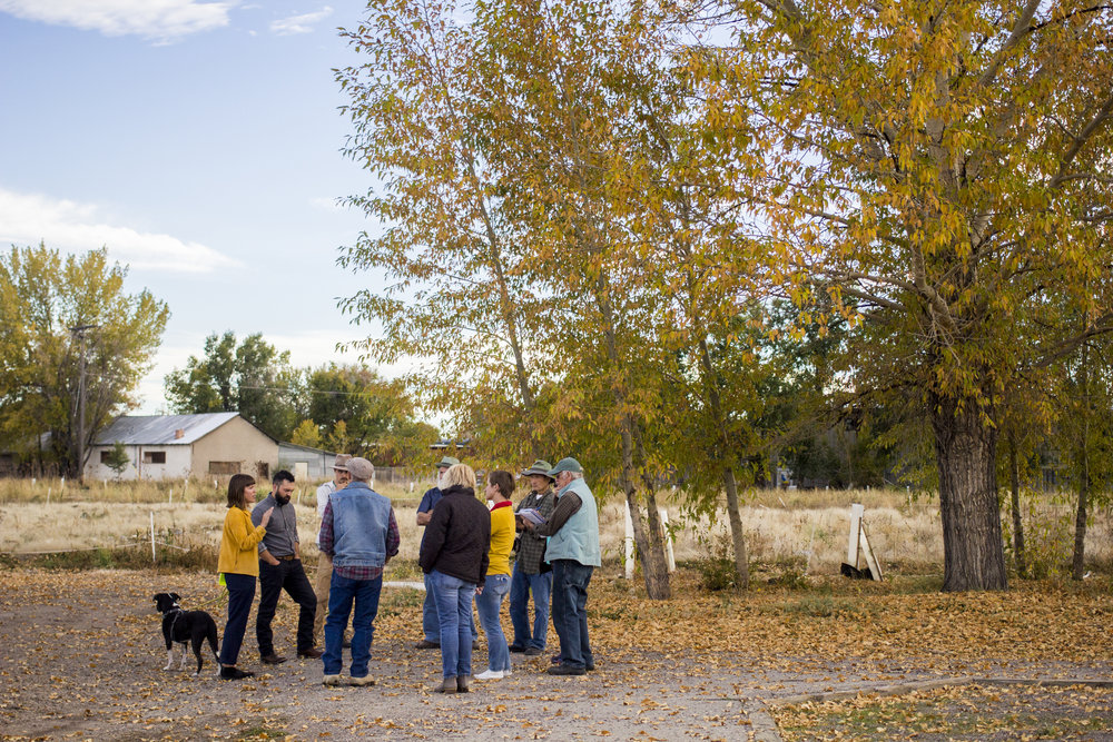 Artists living in Southern Colorado's San Luis Valley, were invited to a public art information session; participants discussed how the Rio Grande Farm Park's core values of Preservation and Creation can inform new works of art for the local community.