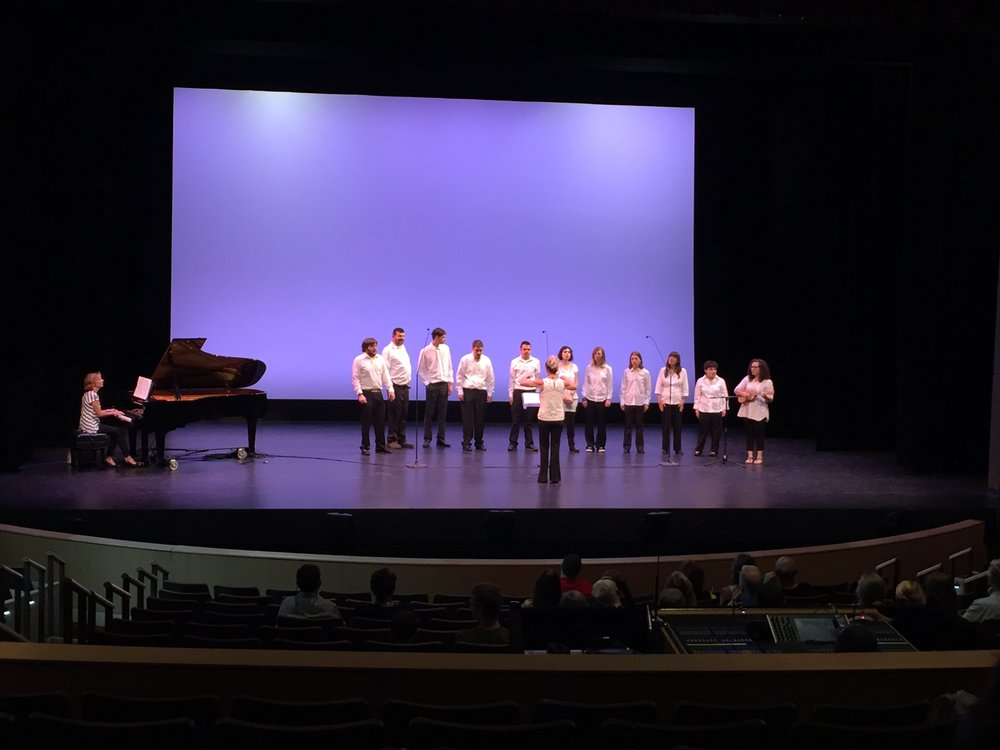 Wellspring Wonders Chorale delighted the crowd with their talents