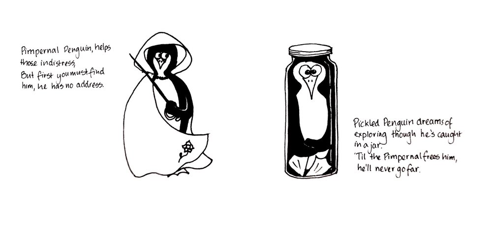 Pesky Penguins .JPG