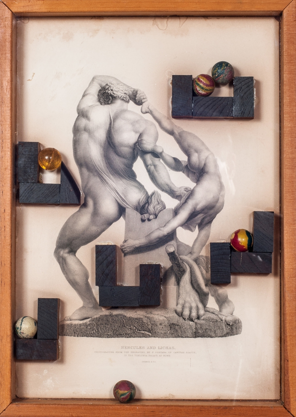 Game Box (Hercules and Lichas).     1984, box, 18.5 x 13.3 x 1.8 inches.