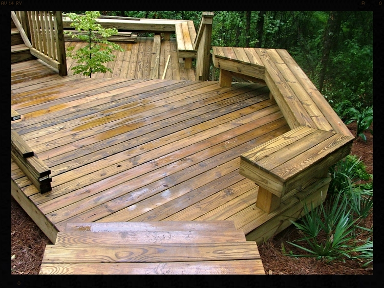 Deck tallahassee landscaping