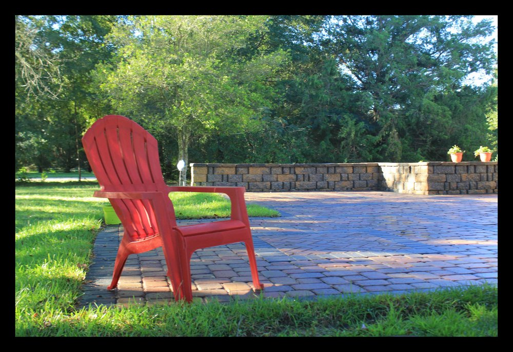 Relaxing Paver Patio In Tallahassee