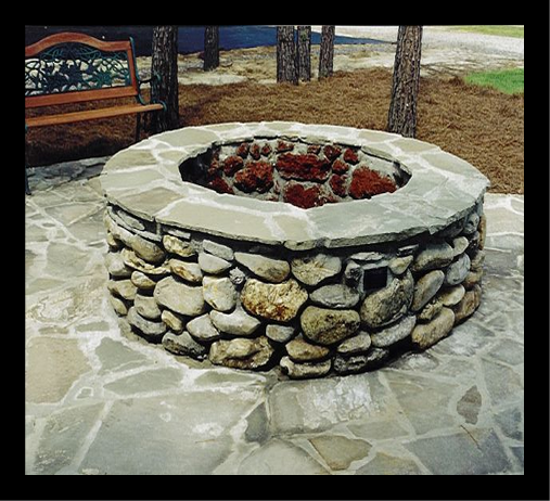 Tallahassee Fireplace and fire pitflagstone_fire_pit_8FRAME.png