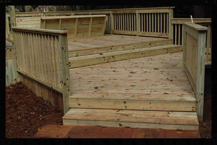 Beautiful tallahassee deck with decks and deck design landscaping leon county.jpg