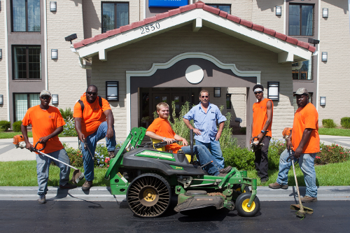 Lawn Care Crew Group Photo