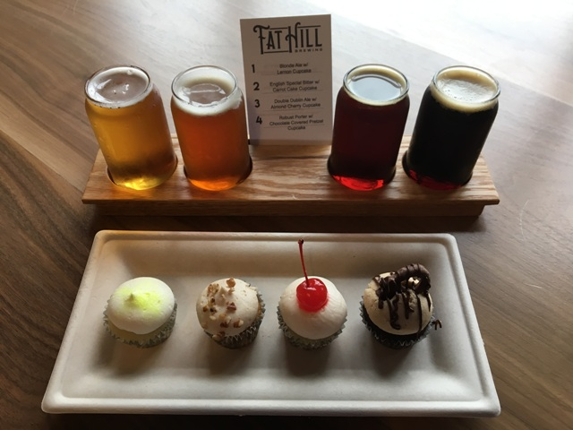 Last year's cupcake flight
