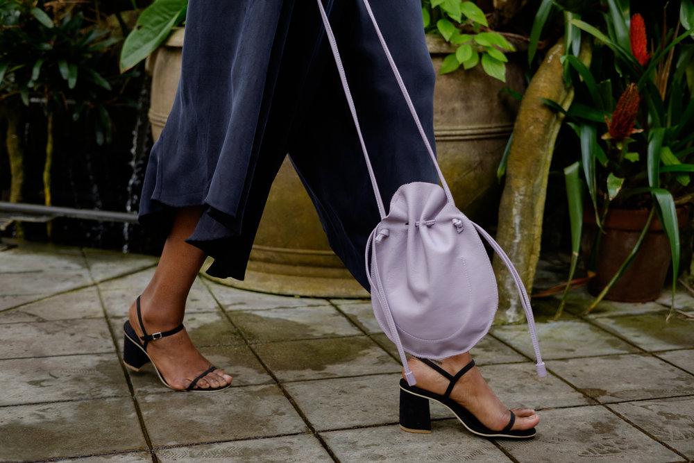 soft leather women designed purse