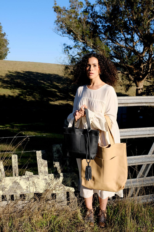superlative tassel purse accessory