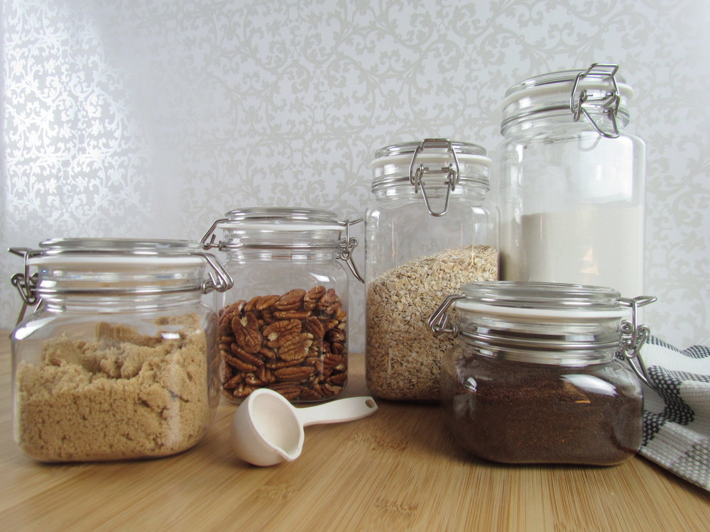 Lock & Stock your food to keep the kitchen organized and cut down on unneccessary waste.