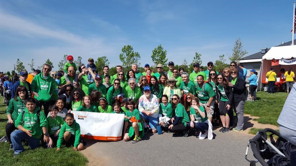 Team Rory at the Kidney Walk
