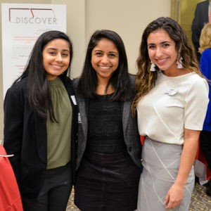 L- R, Zuriya Haider, Shraddha Rathod, Sofia Abdo