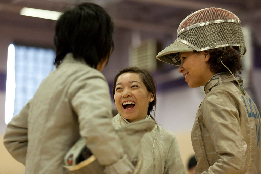 Christine Poon wins Gold for Team Sabre at Women's OUA