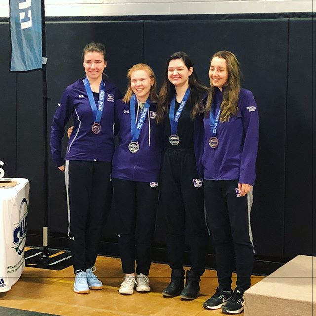 congrats to the womens epee team, who battled it out for silver!! 🥈💪🏻 so proud!