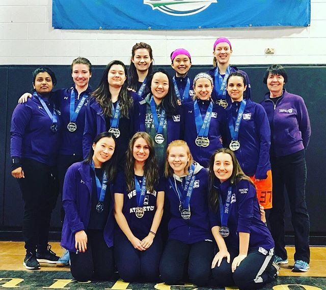WOMENS FENCING WINS OVERALL SILVER! So proud of you girls! 🥈🤺🐎