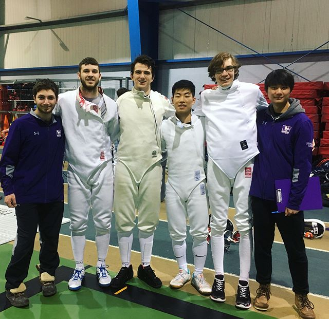 Congrats to Men's Epee for taking home GOLD in the team event! 🎉🤺🥇