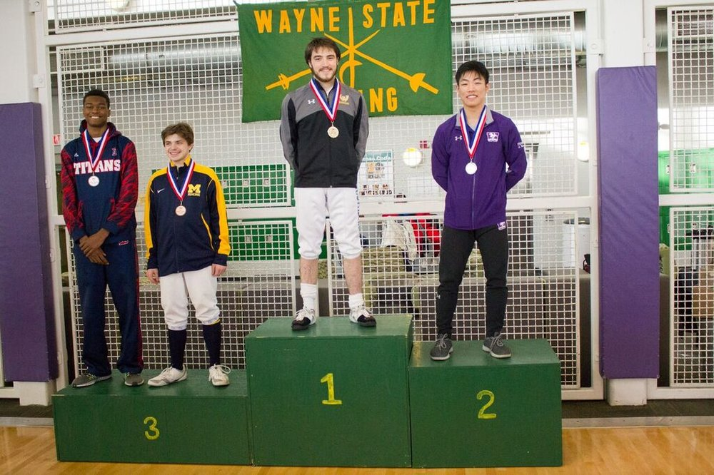 John Huang gets silver at Wayne State 2017-1.jpeg