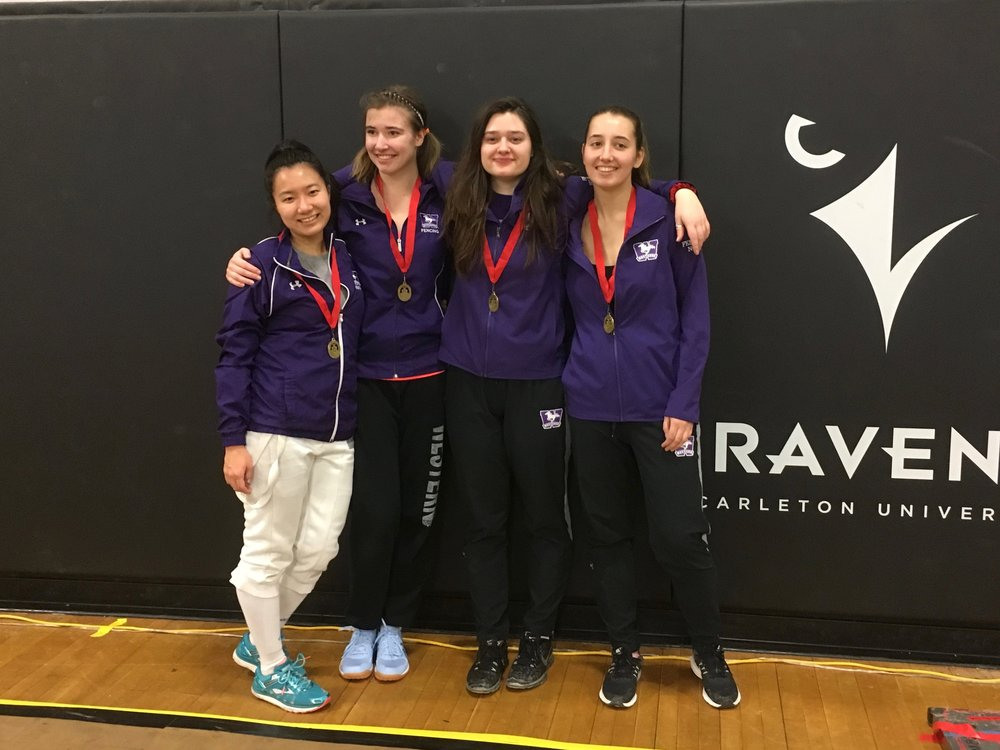 Womens Epee took gold!