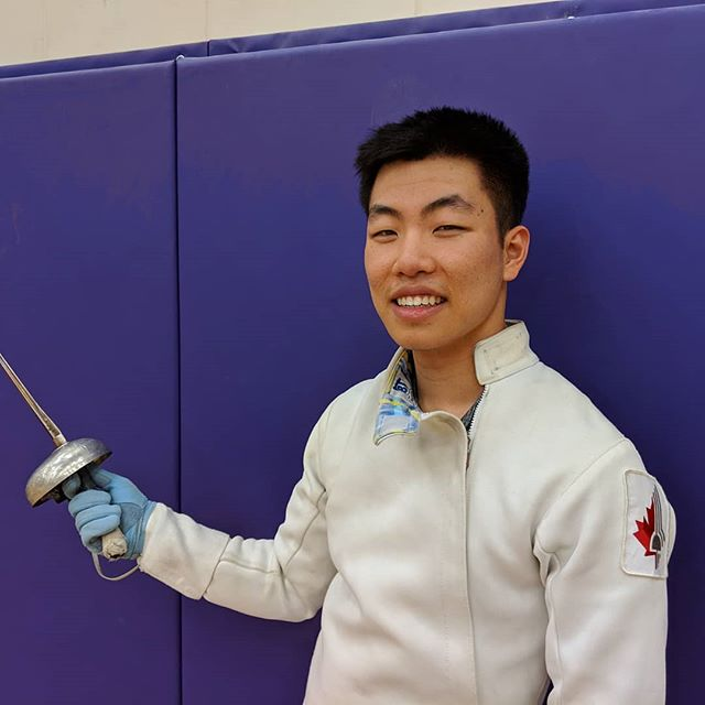 Meet Western fencer John Huang who is going to compete in the Senior Men's Épée event at the 2019 Vango Winter Open on March 9