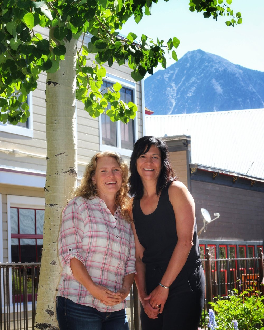 Creek Side Spa Crested Butte Owners Mary & Andi