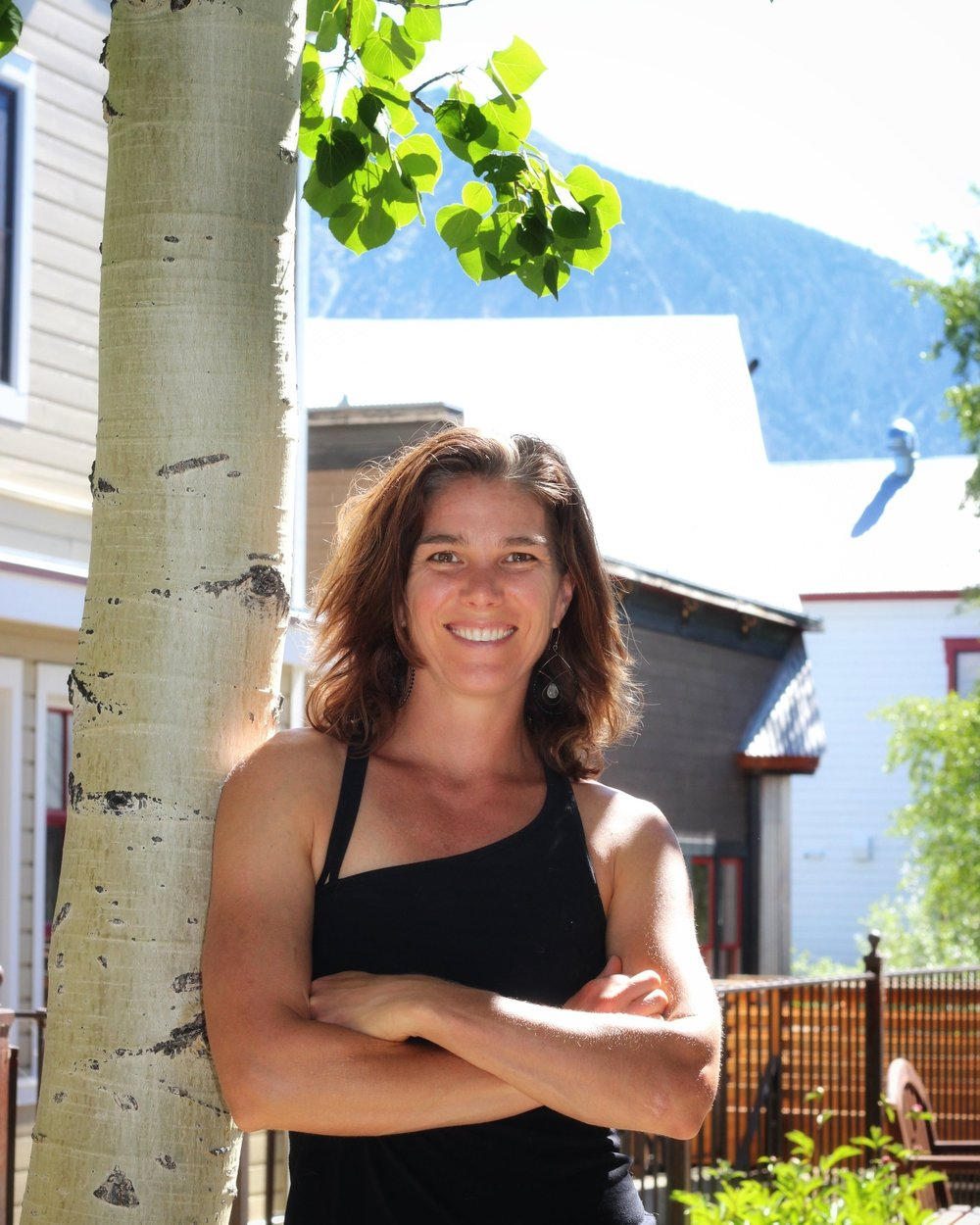 Helen Sage Creek Side Spa Crested Butte massage therapist