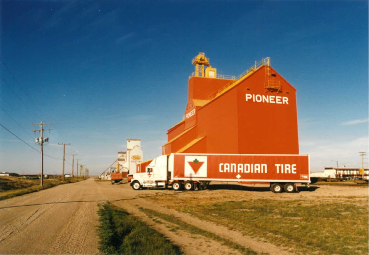 Stopped in Rosetown, Saskatchewan in the late '80s.
