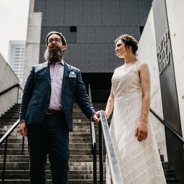 This was my favorite small wedding in the city this year. Not to mention we got 2 hours of portraits!!