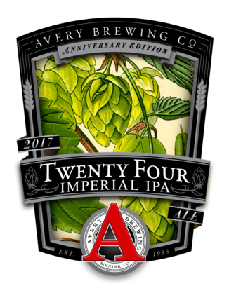 Avery 'Twenty Four', a limited release double IPA